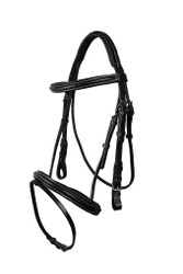 QHP bridle luxury stitched