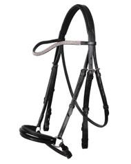 QHP bridle juno black