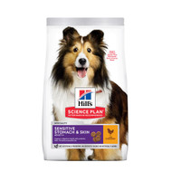 Hill's sensitive stomach & skin medium breed