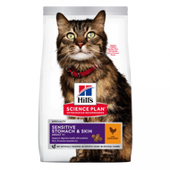 Hill's feline sensitive stomach & skin