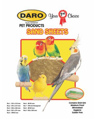Daro Sand sheets 3 (406mm x 266mm) 5pcs