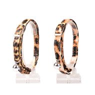 duvo cat collar leopard