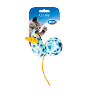 duvo cat toy mouse&ball leopard