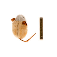 duvo cat toy country mouse with catnip
