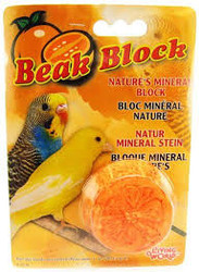 Beak Block mineral block-orange