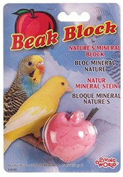 Beak block -mineral block apple