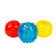 duvo dog toy tpr ball w/texture 8cm
