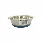 Steel bowl rubber base 13cm
