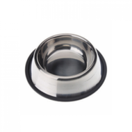 Stainless steel non tip anti skid bowl 8 oz