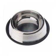 Stainless steel non tip anti skid bowl 64 oz