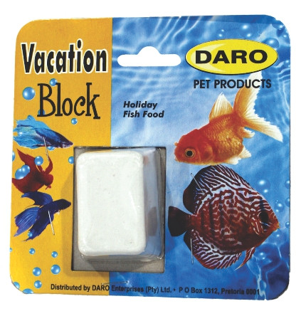 Daro Vacation Block Fish Feeder Cat Box Pet Hyper