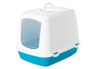 Savic Oscar blue hooded litter tray