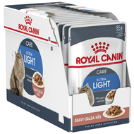 royal canin ultra light pouch 85g x 12 pouches