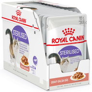 royal canin sterilised pouch 85g x 12 pouches