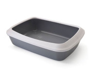 Savic Iriz 50cm litter tray + rim grey