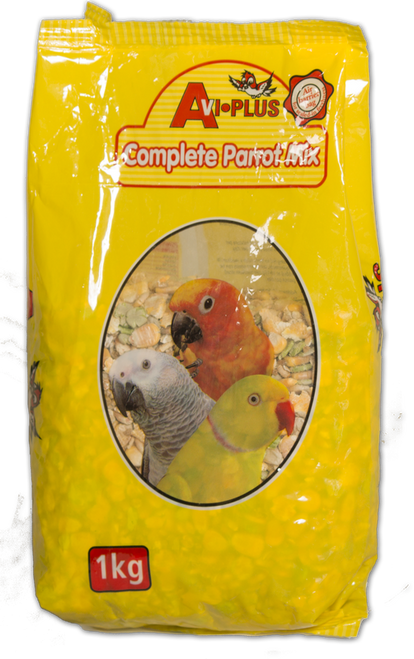 A tasty, variety feast for your parrots and larger parakeets. This easy to use, just add water diet contains rolled and roasted (cooked) grains and peas with our special parrot/parakeet supplement already added. Add some sunflower seed/mixed seed for a food that supplies all your bird needs for peak condition.