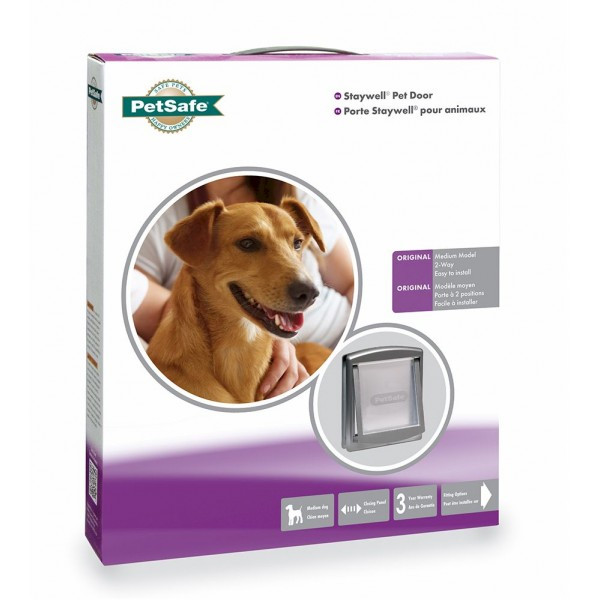 Staywell Medium Pet Door Cat Box Pet Hyper