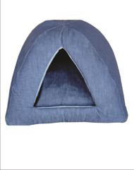 Cat Denim Camper Bed