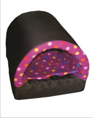 Cat Fleece Tunnel Bed & Cushion