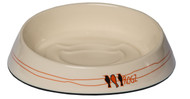 Rogz Catz Fishcake Bowl is designed to improve your cat's feeding experience. Ridges help to prevent food slippage inside the bowl, ensuring a more fun meal time for your cat while the shallow, wide design accommodates a cat's short snout and long whiskers. Hygenic and durable, the Fishcake bowl has a non-skid base and is dishwasher safe.