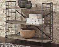 Flintley Brown/Gunmetal Bookcase