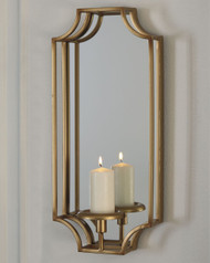 Dumi Gold Finish Wall Sconce