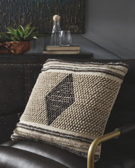 Ricker Gray/Cream Pillow(4/CS)