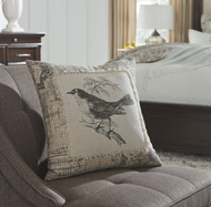 Monissa Black/Cream Pillow(4/CS)