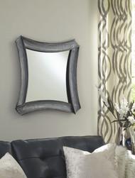 Posie Antique Silver Accent Mirror