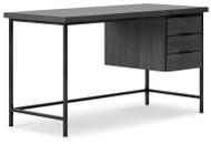 Yarlow Black Home Office Desk
