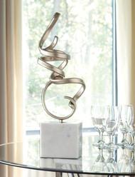 Pallaton Champagne/White Sculpture