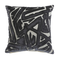 Kaslow Gray/Cream Pillow (4/CS)
