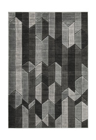 Chayse Black/Gray Medium Rug