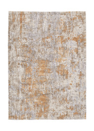 Kamella Gray/Gold Large Rug
