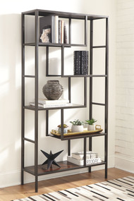 Frankwell Brown/Black Bookcase