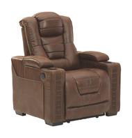 Owner's Box Thyme Power Recliner/ADJ Headrest