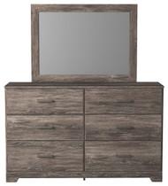 Ralinksi Gray Dresser, Mirror