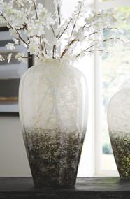 Mirielle White/Gray Vase