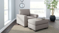 Greaves Stone 2 Pc. Chair, Ottoman