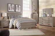 Culverbach Gray 6 Pc. Dresser, Mirror, Queen Panel Bed, 2 Nightstands