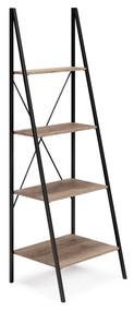 Bertmond Light Brown/Black Bookcase