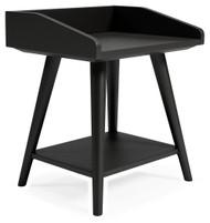 Blariden Metallic Gray Accent Table