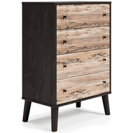 Piperton Two-tone Four Drawer Chest