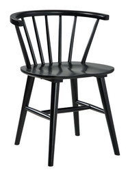 Otaska Black Dining Room Side Chair
