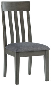 Hallanden Two-tone Gray Dining Upholstered Side Chair