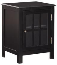 Opelton Black Accent Cabinet