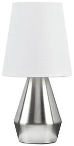 Lanry Silver Finish Metal Table Lamp (1/CN)