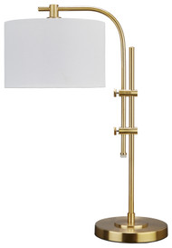 Baronvale Brass Finish Metal Accent Lamp (1/CN)