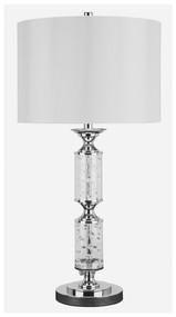Laramae Chrome Finish Metal Table Lamp (1/CN)