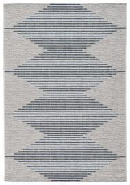 Alverno White/Blue Large Rug